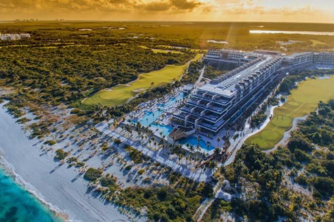 Hotel en playa de cancun