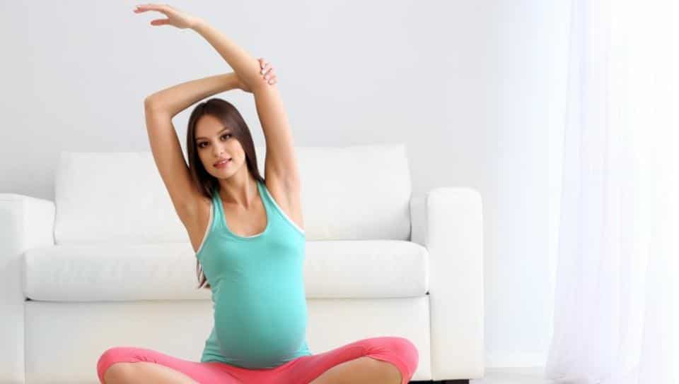 Yoga is great for you and your baby's health.