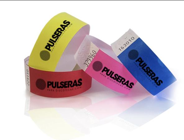 pulseras para eventos
