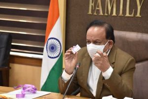 Dr Harsh Vardhan inaugurated India's first indigenous pneumococcal conjugate vaccine (PCV) developed by the Serum Institute of India to treat pneumonia in children.