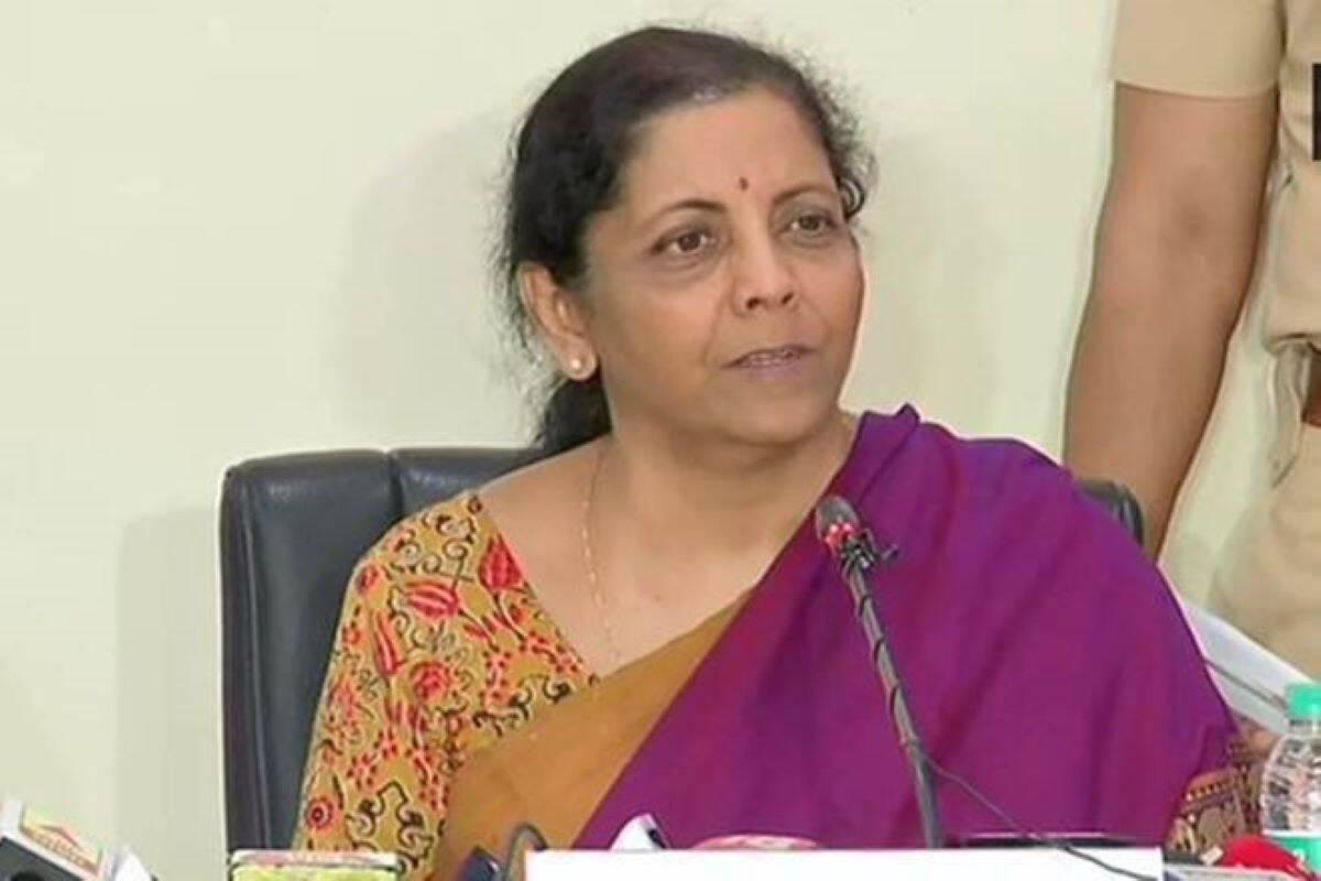 nirmala sitharaman, ministro de finanzas de la unión