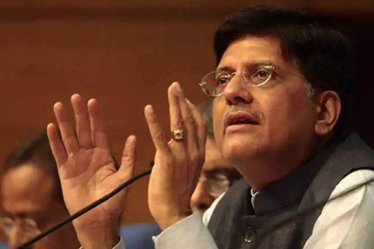 Ministro de Alimentación de la Unión, Piyush Goyal