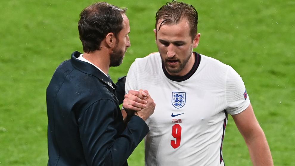 El capitán de Inglaterra Kane no guarda rencor contra Southgate después de ser reemplazado en medio de un fracaso al comienzo de la Euro 2020