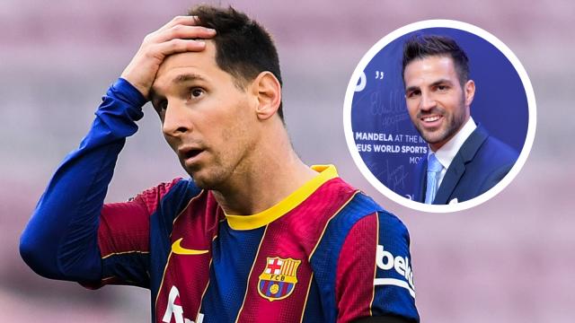 Fábregas: Messi se merece un final feliz en el resurgimiento del Barcelona