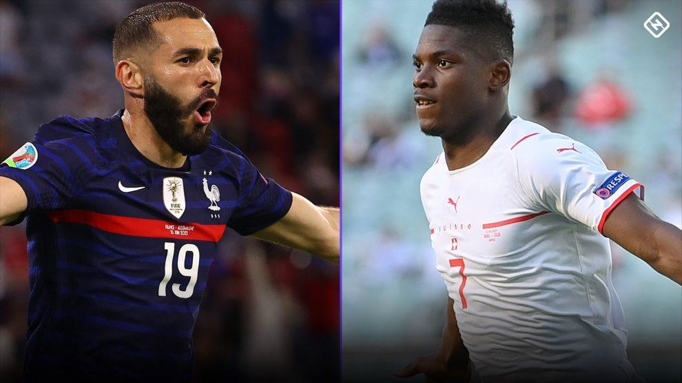 Francia vs.  Suiza: alineaciones, TV, retransmisiones, probabilidades, predicción para el partido de octavos de final de la Eurocopa 2021