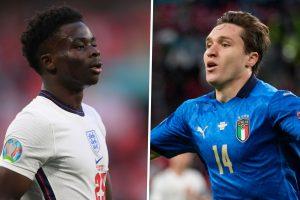 Donde se ganará y perderá la final de la Euro 2021 entre Inglaterra e Italia