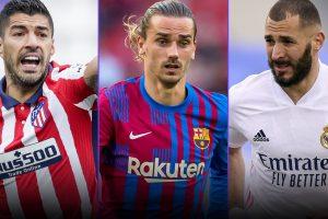¿Quién ganará la Liga?  Apuestas favoritas para la temporada de fútbol 2021-2022 en España