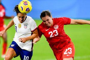 USWNT vs Canadá: hora, canal, TV, transmisión para ver la Semifinal Olímpica de Fútbol Femenino