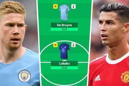 Fantasy Premier League: ¿Puedes poner a De Bruyne en tu equipo y seguir teniendo a Ronaldo, Lukaku y Salah?