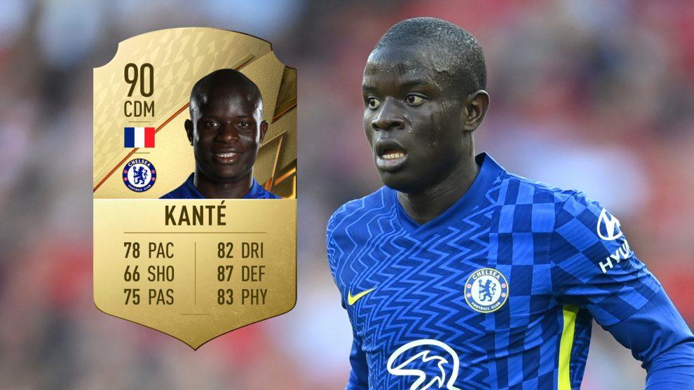 Tablas de clasificación de FIFA 22: se revelan los mejores jugadores de Kante, Lukaku y Chelsea