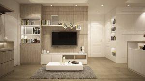 hogar y decoracion del salon